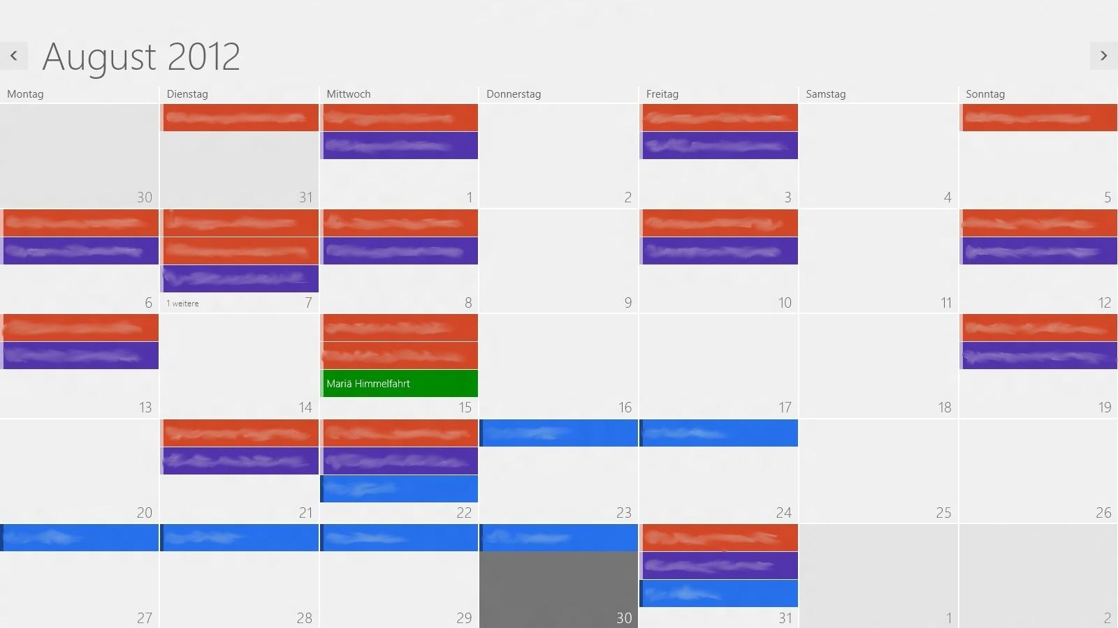 app für kalender