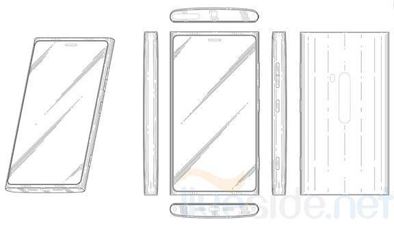 Design Patent eines Windows Phone 8 Smartphones von Nokia aufgetaucht