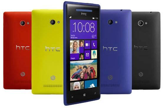 Das HTC X8