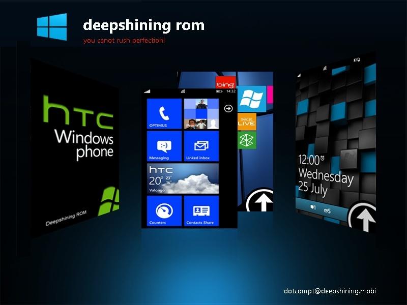 HTC HD7: Deepshining Custom ROM mit USB Video-Out jetzt verfügbar