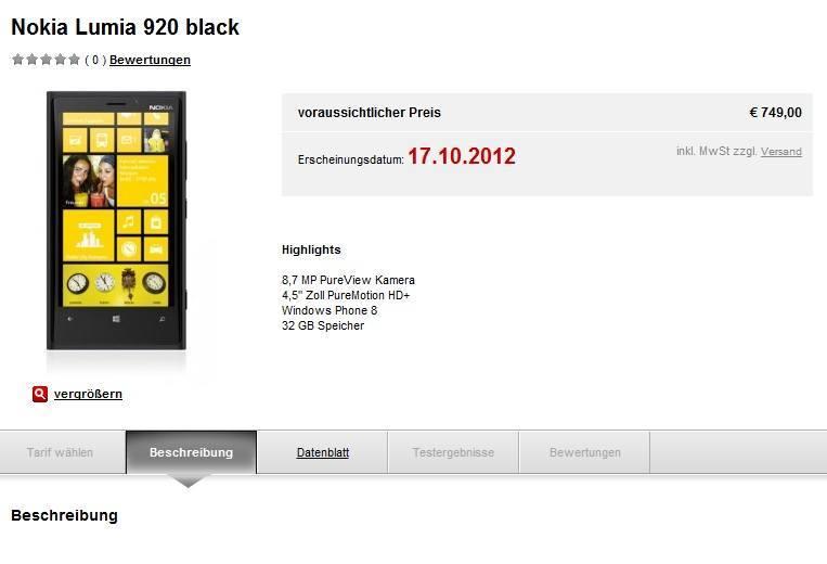 lumia 920 handytick