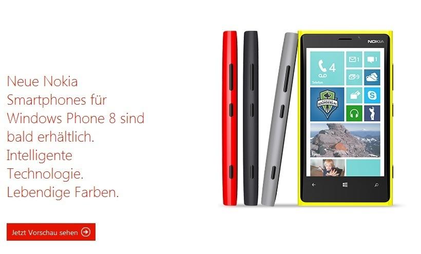 nokia lumia 920 neues vorzeige smartphone auf windows. Black Bedroom Furniture Sets. Home Design Ideas