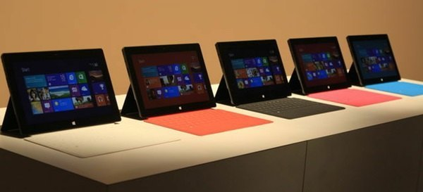 Surface RT mit Touchcover