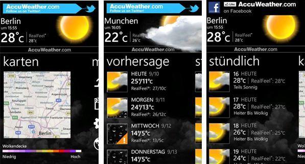 nokia ver u00f6ffentlicht accuweather app f u00fcr lumia smartphones