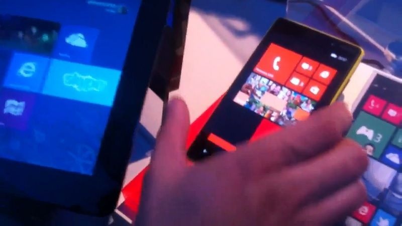 Datentransfer zwischen Windows Phone 8 und Windows 8