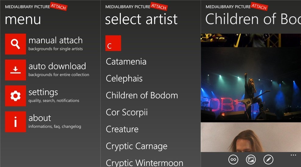 MPAtool - Screenshots