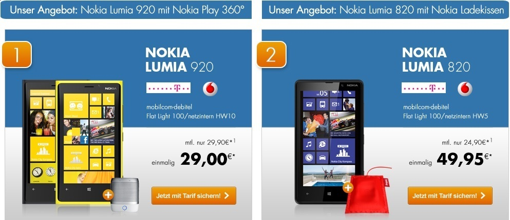 Nokia Lumia Deal