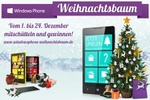der windows phone weihnachtsbaum ist der etwas andere. Black Bedroom Furniture Sets. Home Design Ideas
