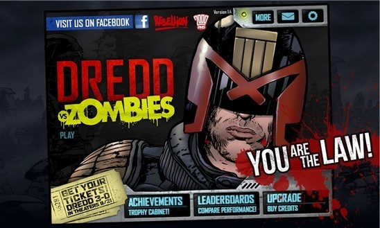 Game Tipp: Dredd vs. Zombies für Windows Phone 8 und Windows 8/RT