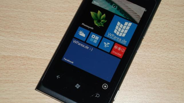 Lumia 800 Facebook LiveTile