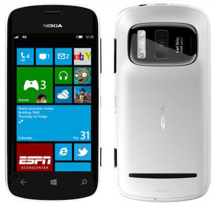 Nokia Lumia PureView Windows Phone 8