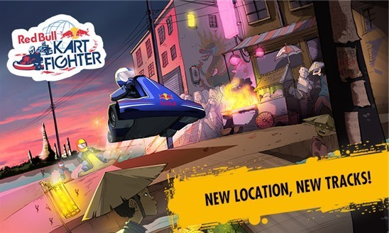 Red Bull Kart Fighter World Tour jetzt im Windows Phone Store erhältlich