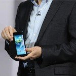 Samsung Android Prototyp mit flexiblem Display 2