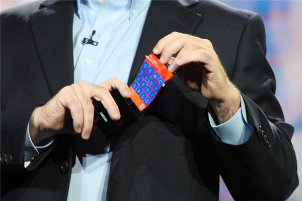 Microsoft soll einer der ersten Kunden sein von biegsame LG-Displays