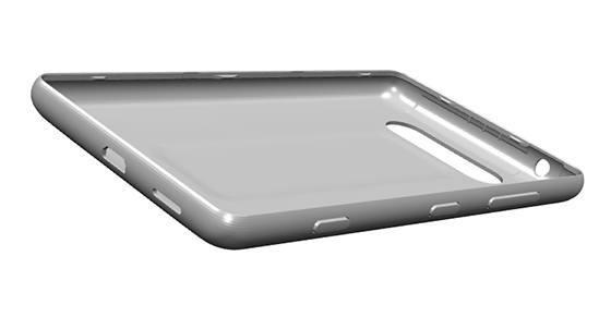 Lumia 820 3D-Entwurf