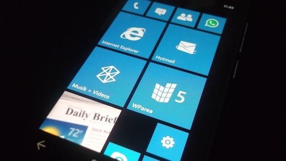 """Windows Phone 7.8 scheint einen """"Startbildschirm Bug"""" zu haben"""