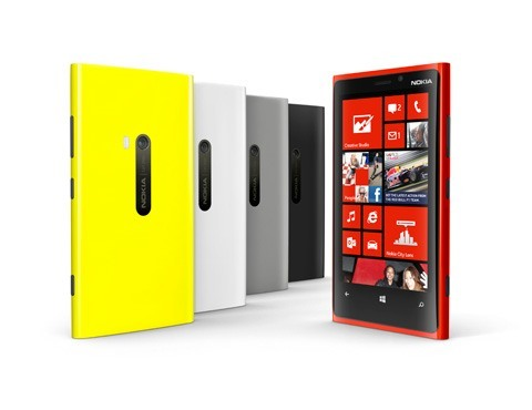 Nokia Lumia 920 in allen farben