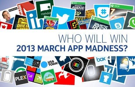 Nokia March App Madness 2013 Header