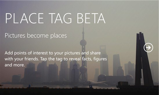 place tag beta