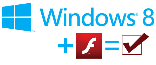 windows 8 flash