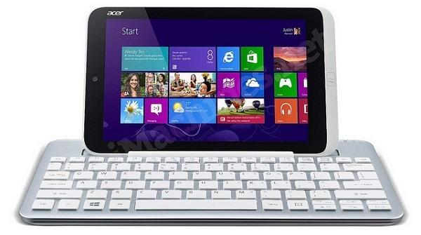 Acer Iconia W3 - Tastatur