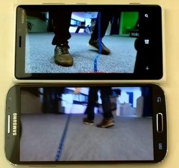 Lumia 920 Galaxy S4