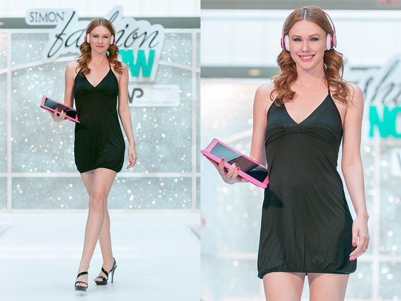 Microsoft Store beteiligt sich an Modeschau im New Yorker Einkaufszentrum