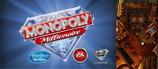 Monopoly Millionaire & DaVinci Pinball - Screenshot