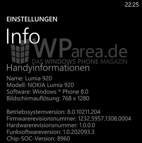 Nokia Lumia 920 1308-Firmware-Update