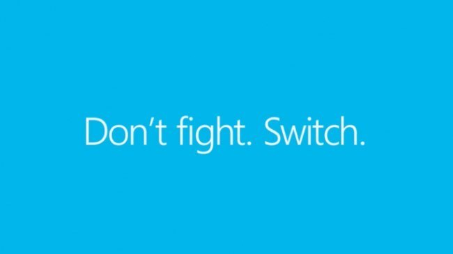 Switch Windows Phone