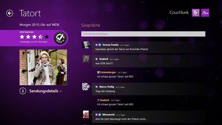 Couchfunk App