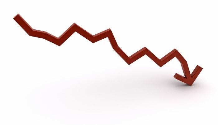 graph-arrow-down