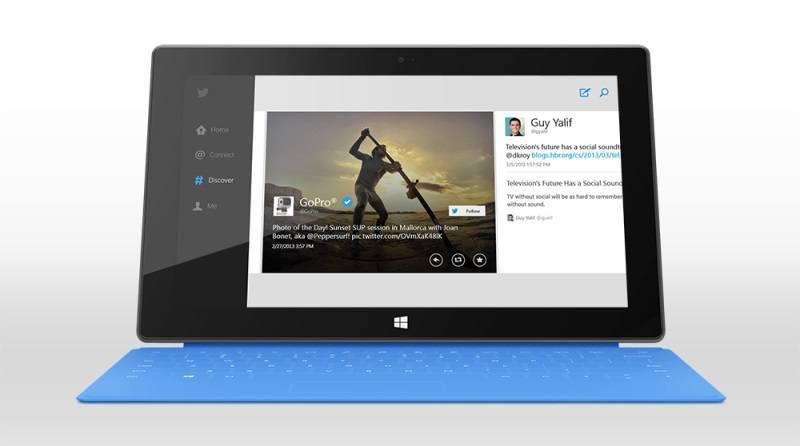 Deal: Kostenloses Touch/Type Cover beim Kauf eines Surface RT
