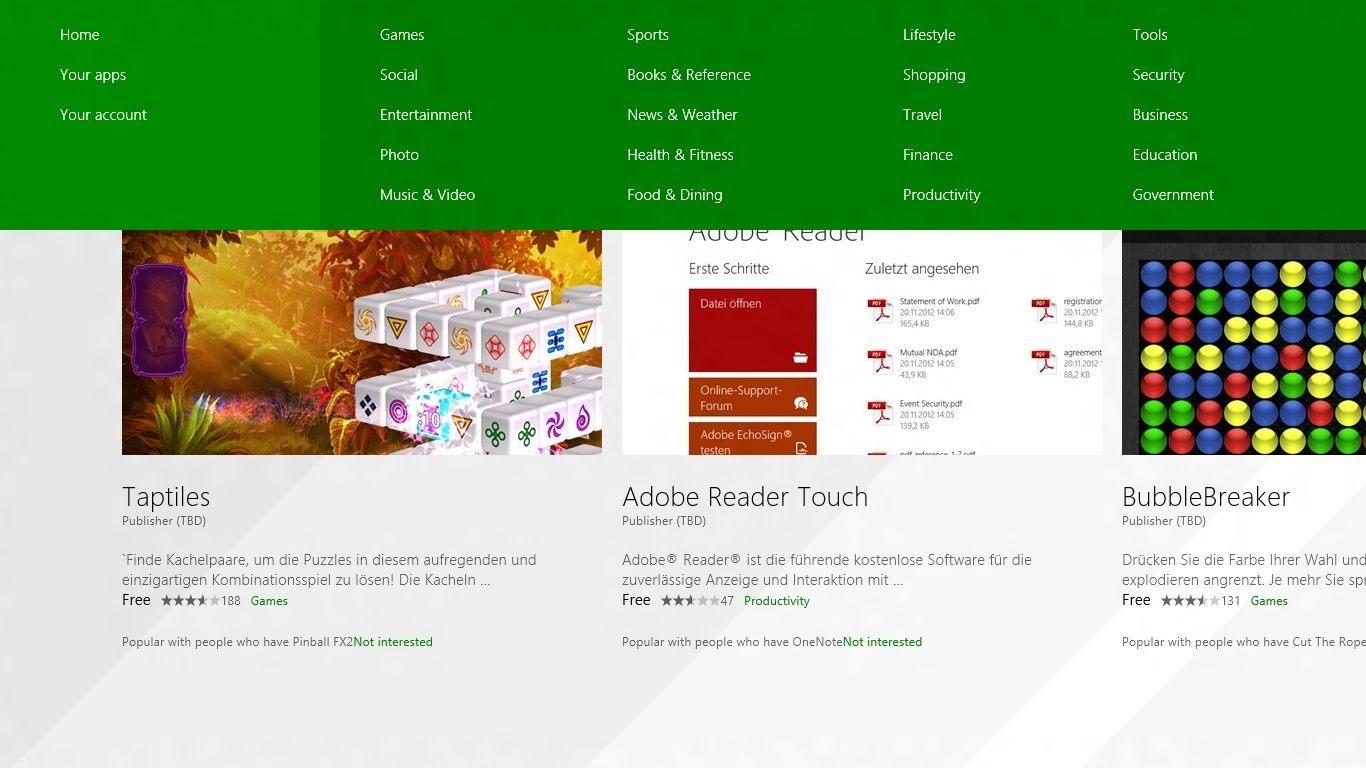 Windows 8.1 – Erste Eindrücke vom aktualisierten App Store – Das ...