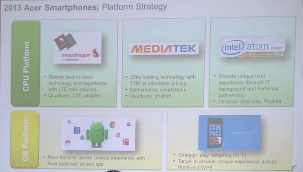 acer smartphone plans 2014