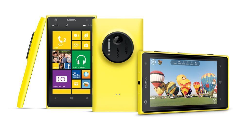 Nokia Lumia 1020 Übersicht Gelb