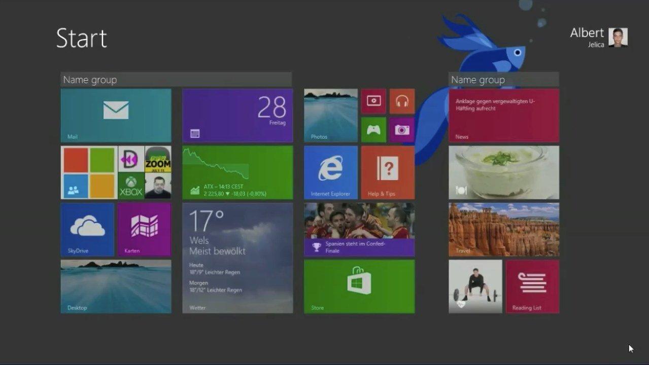 windows 8.1 customize