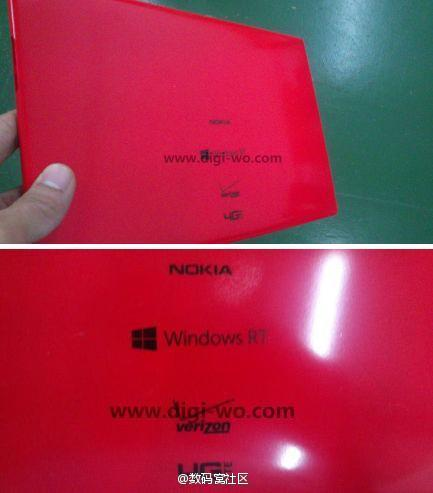 Nokia Tablet rot Windows RT verizon