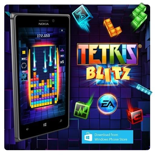 Tetris Blitz auf Nokia Lumia 925