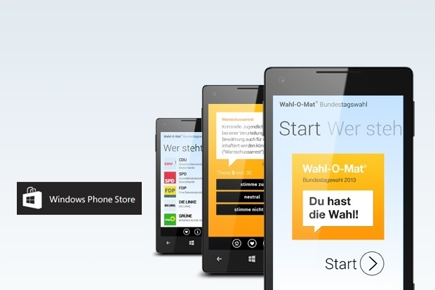 Wahl-O-Mat App für Windows Phone 8