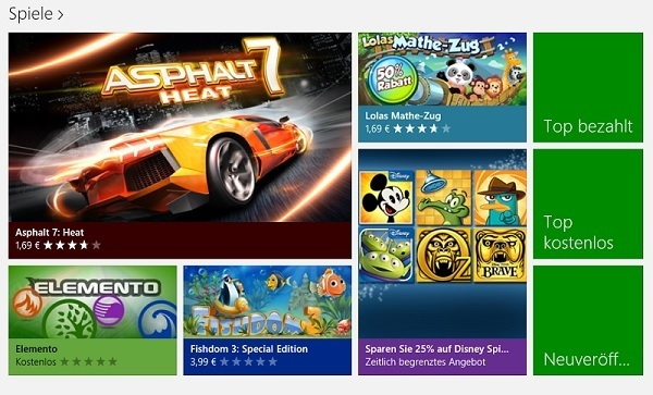 Windows 8 RT Disney Games Deal