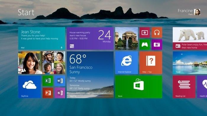 Microsoft: Windows 8.1 ist ab dem 18. Oktober weltweit verfügbar