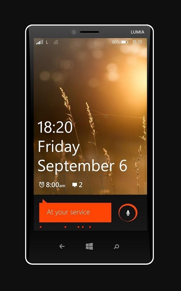 Nokia Lumia 1820 Windows Phone 8.1