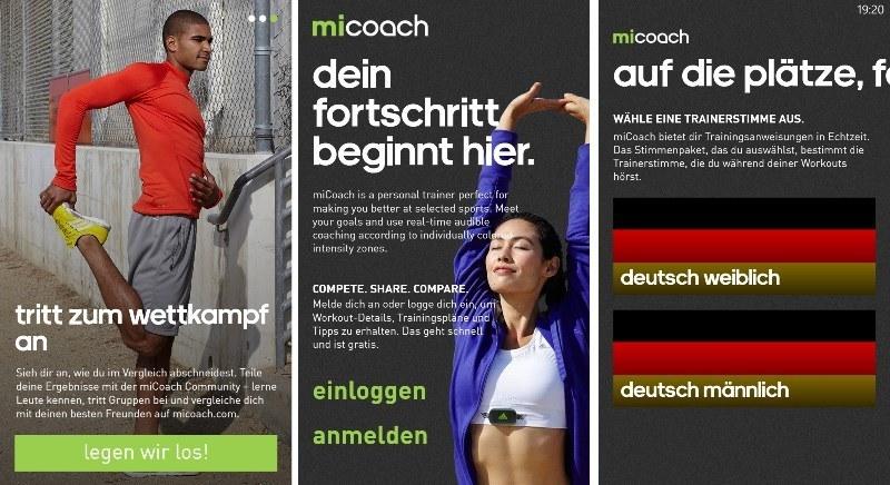 [Update] Adidas miCoach und Spiegel Magazine erscheinen für Windows (Phone) 8