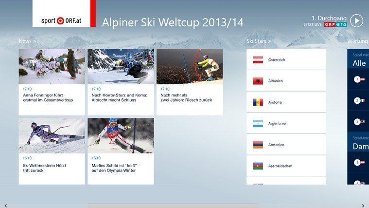 Ski Alpin Screenshot