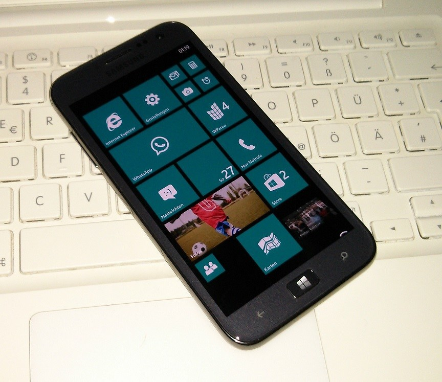 Windows Phone Samsung ATIV S Interop Unlock Live Tile