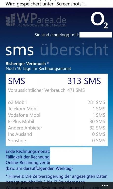 O2 Mobilfunkrechnung