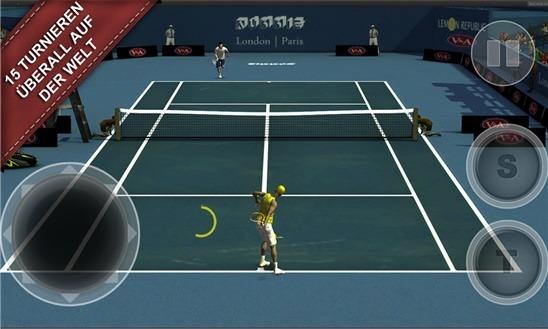 Cross Court Tennis 2 - Screenshot
