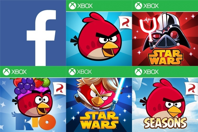 Facebook Angry Birds Updates