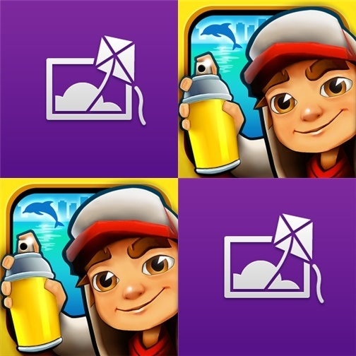 Subway Surfers Nokia Cinemagraph Icons
